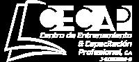 Logo CECAP Blanco